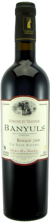 Banyuls Rimage, Domaine du Traginer,  0,5 L.