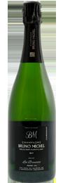 Champagne brut, Cuvée Les Brousses, premier cru, millésime 2010, Bruno Michel
